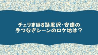 チェリまほ8話黒沢・安達の手つなぎシーンのロケ地は?